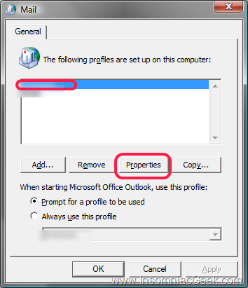 how to open windows live mail folders