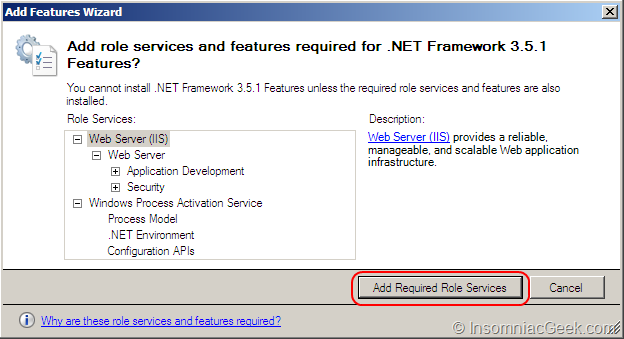 how to add sql role in windows server 2016