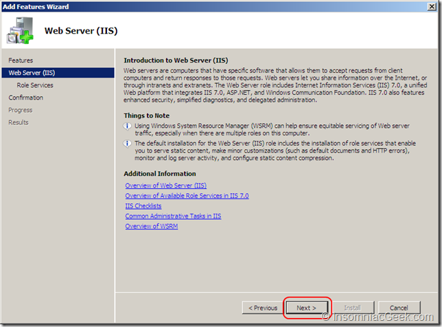 Introduction to Web Server (IIS)